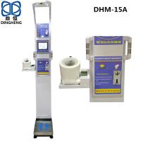 China DHM-15A Blood Pressure and Fat monitor BODY FAT SCALE for clinic Russia Language digital blood pressure monitor wholesale