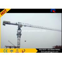 China 6 tons Mobile Topless Tower Crane Jib Length 56M Power Cable Tip Load 1T wholesale