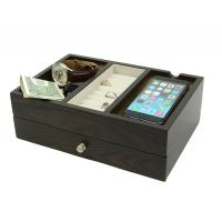 China Wood Desk Supply Organizer, Multi Device Charging Station And Cord Organizer wholesale