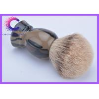China Mens Grooming Silvertip Badger Shaving Brush / Badger Hair Shaving Brush wholesale