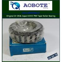 China Japan Koyo Tapered Roller Bearing 759 , Z2 Low Friction Bearing for Automotive wholesale