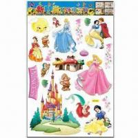 China Cartoon Wall Decals, Non-toxic, Low-cadmium Standard, Various Styles are Available wholesale