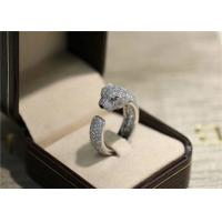 China N4225200 VS Diamond Panthere Cartier Ring With Emeralds Onyx wholesale