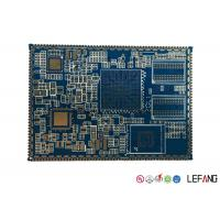 China Custom PCB Board Circuit Board for Security Power Supply , Blue on sale