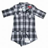 China Fashionable Children's Shirt with Embroidery wholesale
