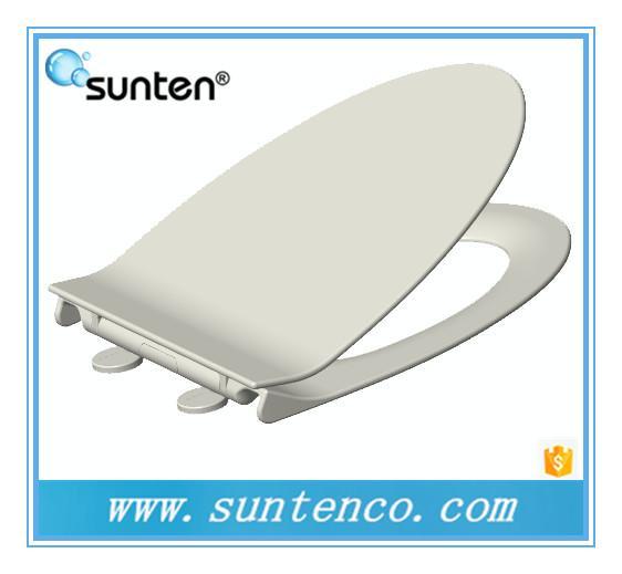 Excellent design soft closing v shape elongated toilet seat covers of sunten toilet seat - Elongated toilet seat covers in some stunning patterns ...