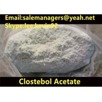 China 99% Purity Clostebol Acetate Turinabol CAS 855-19-6 For Building Muscle wholesale