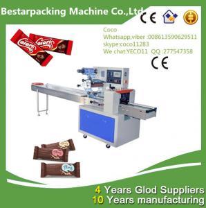 China Chocolate Bars Flow Pack machine wholesale