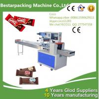 China Chocolate Bars Horizontal Pillow flow pack Machine wholesale