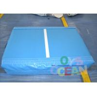 China Indoor Home Inflatable Mini Size Air Tumbling Mat For Kids Gymnastics SGS wholesale