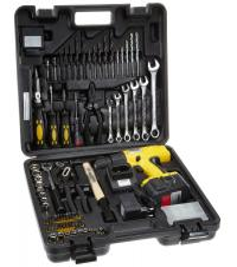 China Professional Power Tool 75PCS DIY Cordless Drill Sets with HSS Twist Drills / Wood Drills Combination Tool Set on sale