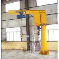 China 1 ton, 2 ton, 3 ton Heavy-Duty Free Standing Jib Crane For With Electric Wire Rope Hoist For Material Handling wholesale