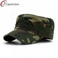 China Military Fitted Baseball Hats Unconstructed Cotton for Relaxation wholesale