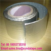 China Aluminum Coating Self Adhesive Roofing Sealing Tape for Building Waterproofing Material wholesale
