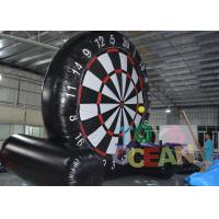 China Giant Foosball Soccer Dart Board Target Goal Inflatable Interactive Games 5.5X3X4.58m wholesale