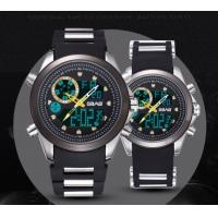 China Wholesael new Sbao Men dual time waterproof chronograph alarm outdoor casual sport watches S-9007 wholesale