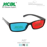 Wholesale Folding Binoculars Magenta Green Anaglyph 3D Glasses Compatible with Nvidia 3d Vision from china suppliers