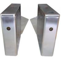 China ID Card High Capability Dual Way Stainless Retractable Flap Barrier for Bus Station RS485 wholesale