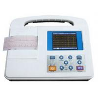 China Large LCD Screen 12 Lead Ecg Machine , Rs232 and USB Interface wholesale