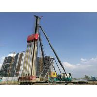 China High Stability Screw Pile Machine , Screw Pile Driver 44KW Motor Power wholesale