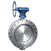 China Class 150 Stainless Steel Eccentric Butterfly Valve , Flanged Triple Offset Butterfly Valve wholesale