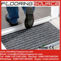 China Aluminum doormat heavy duty winter door mat welcome dirt stopper mat carpet entrance mat wholesale