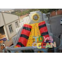 China Popular Pyramids Inflatable Bouncy Slide With Climbing Customized Outdoor wholesale