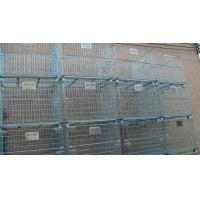 Wholesale Stacking 4 Tier Wire Mesh Containers Collapsible Wire Cage Without Rack System from china suppliers