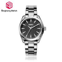China Water Resistant Mens Metal Strap Watches , Black Stainless Steel Watch Mens on sale