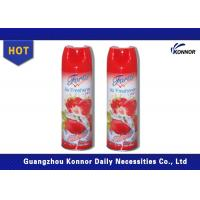 China 300ml Household Canned Air Freshener Sprays With Tinplate Material wholesale