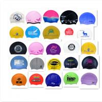 China custom swim cap no minimum wholesale
