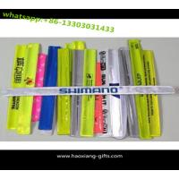 China 2016 Newest Promotional Cheap Custom Silicone Slap Bracelet with rubber material wholesale