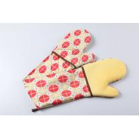 China silicone double oven mitts wholesale