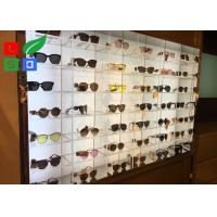 China Illuminated LED Shop Display DC 12V Sunglasses LED Display With Acrylic Case Built - In wholesale