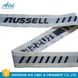 China Customized Wide Eco - Friendly Underwear Men Webbing Tape Nylon / Spandex wholesale