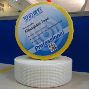 China 2 x90m Drywall Cracks Fiberglass Mesh Joint self-adhesive Tape Roller wholesale