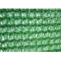 China Three Needle Plastic Wire Mesh , Knitted Sun Shade Net HDPE For Greenhouse wholesale