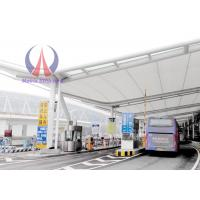 Buy cheap Airport Walkway Tensile Membrane Canopy , Structural Steel Canopies from wholesalers