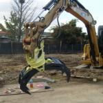 China good price high quality log grapple,stone grapple for excavator wholesale