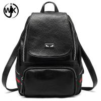 China Head layer genuine leather bags grain soft leisure travelling backpack convert shoulder bags lichi texture backpack wholesale