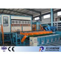 China High Efficient Egg Tray Production Line , Egg Box Making Machine 25m*3m*4m wholesale