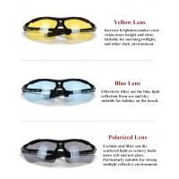 Glasses Frames With Interchangeable Arms : Interchangeable Arms And Lenses Bike Sun Glasses UV400 ...