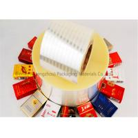 China Double Sided Heat Sealable BOPP Film Thermal Lamination 2800m Length wholesale