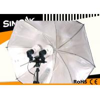 China Fan cooling 45W 4500LM Digital Photography Lighting Umbrella E27 Screw wholesale