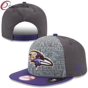 China Gray Snapback Baseball Caps for Men / Boys customized baseball hats wholesale