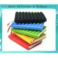 China Waterproof silicone block notebook for office lady wholesale