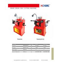 China brake drum/disc  cutting machine T8465/T8445FCV/C9350/C9370(iron cast,red colour) on sale