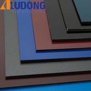 China 5mm PVDF Aluminum Composite Panel Modern Facade wholesale