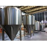Refrigerated Stainless Steel Conical Fermenter 1000L Large Brewing Equipment for sale