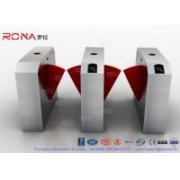 China Dual Channel Automation Flap Barrier Gate Fast Lane Gate Access Control Systems wholesale